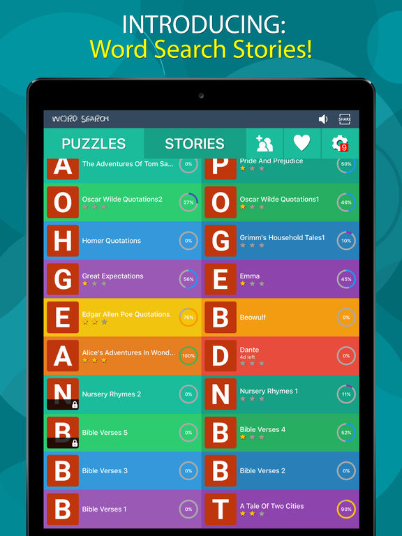 how to find word search puzzles for ipad apps