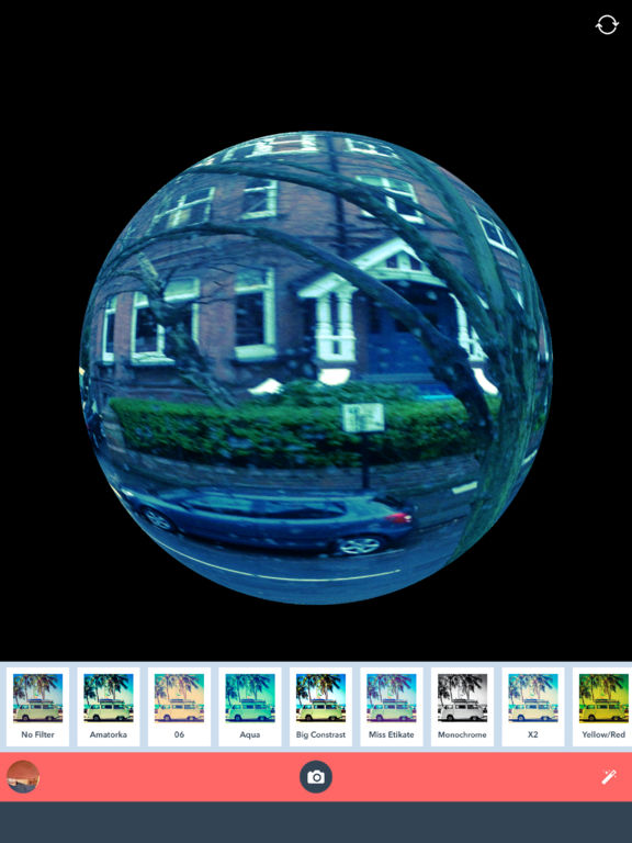 App shopper fisheye super wide photography for Fish eye lense app