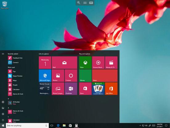 Удаленный рабочий стол (Майкрософт) Screenshot