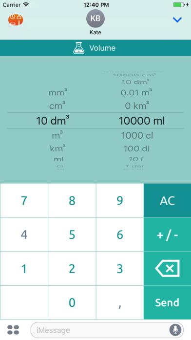 Universal converter free: Converts all units of measurement iPhone Screenshot 8