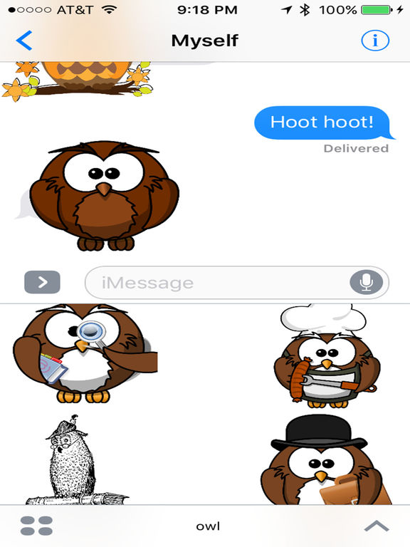 App Shopper Owl  Night Time Big Hooter Stickers (stickers. Rock N Roll Signs Of Stroke. Drift Decals. Adwords Banners. Shower Wall Murals. Red White Blue Banners. Meaningful Signs. Couple 2016 Decals. Pimp Murals
