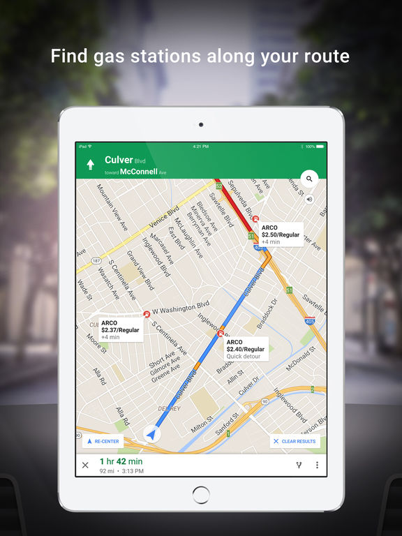 Image of Google Maps - Navigation & Transit for iPad