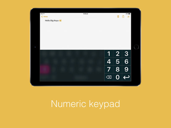 Big Keys: Large Keyboard & Emoji QWERTY Magnifier Screenshots