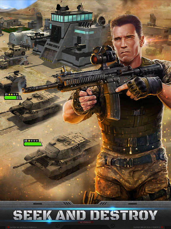 Mobile Strike Screenshots