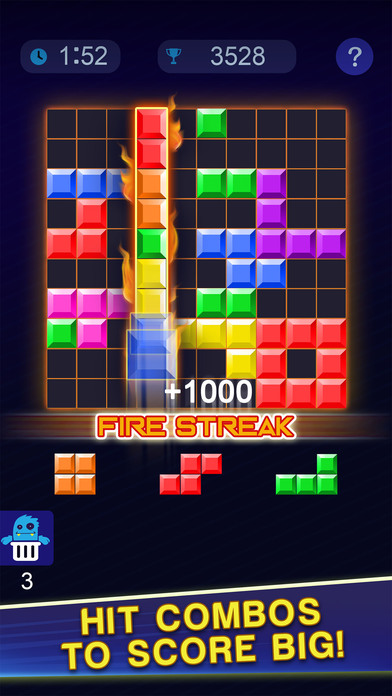 Screenshot 2 Block Blitz — Multiplayer Puzzle Match Games