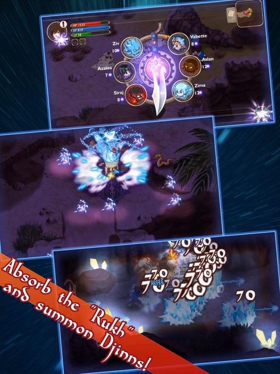 RPG Djinn Caster для iPad