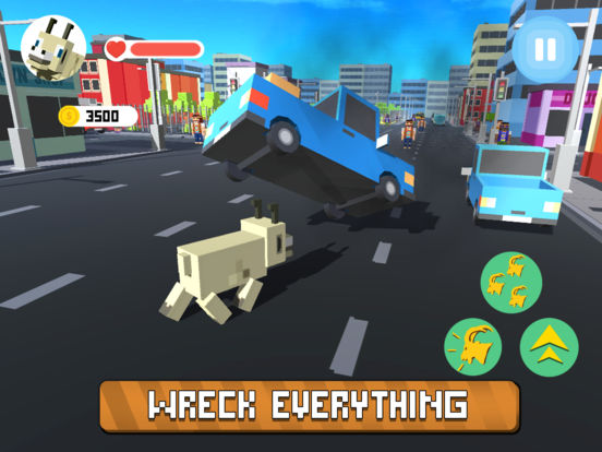 Blocky City Goat Full Screenshots