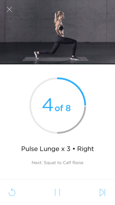 Zova - Smart Personal Trainer Screenshot