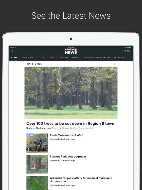 KAIT Region 8 News screenshot 4