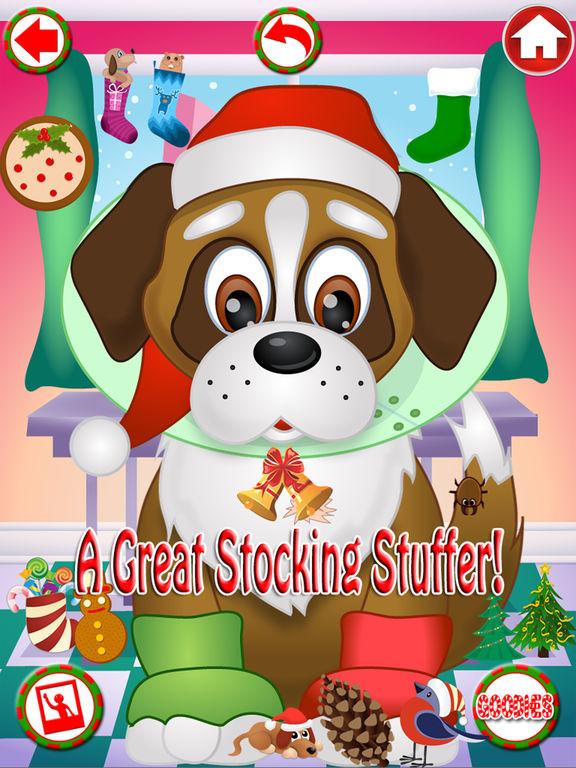 Christmas Pet Vet Doctor Santa Animal Hospital Zooscreeshot 4