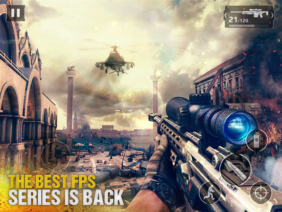 Modern Combat 5 : The Multiplayer eSports Shooter Screenshots