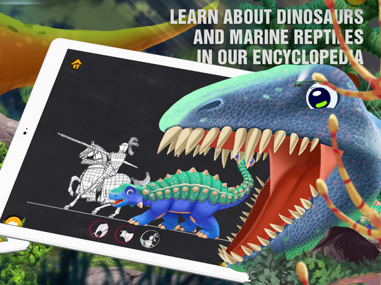 Ginkgo Dino: Dinosaurs World Game for Children Screenshots