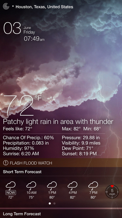 Screenshot #7 for Weather Live Free - Weather Forecast & Alerts