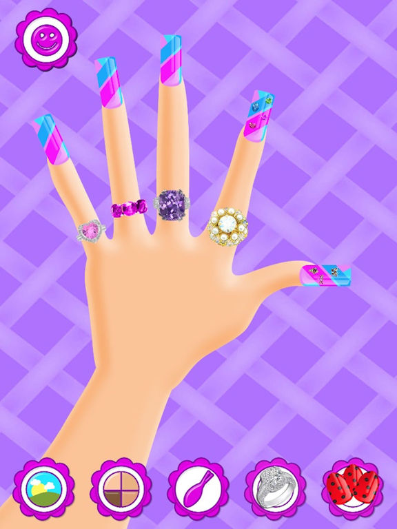 App shopper nail salon manicure paint polish for for A list nail salon game