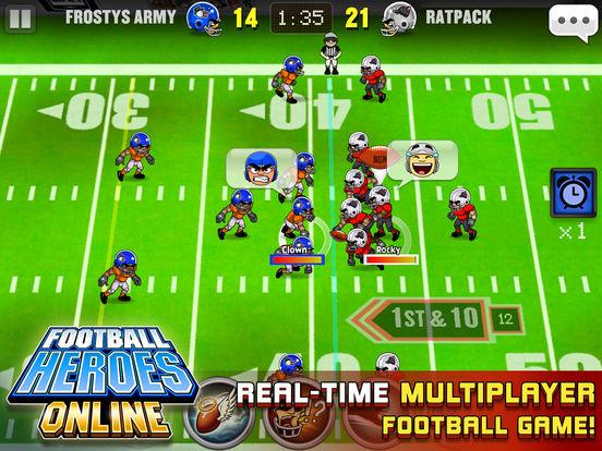 Football Heroes Online Скриншоты8