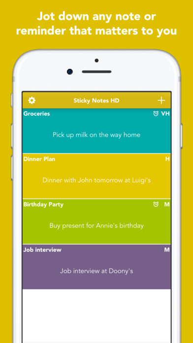 Sticky Notes HD Screenshots