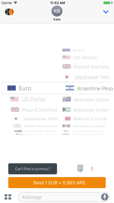 Currency Converter (Free) iPhone Screenshot 8