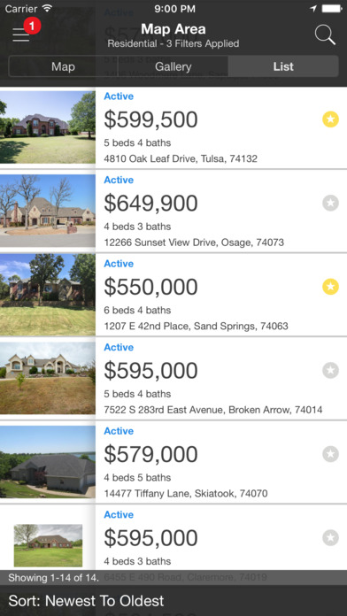 Tulsa MLS iPhone Screenshot 4