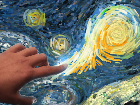 Starry Night Interactive Animation Screenshots