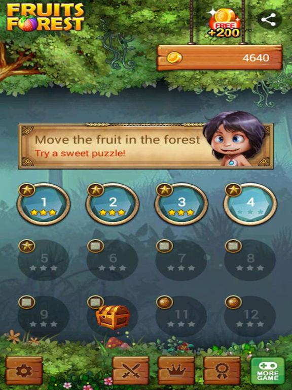 Фруктовый лес: Радужное яблоко Скриншоты11