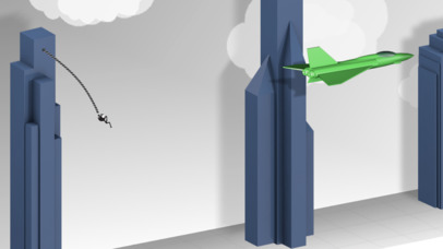 Screenshots of Rope'n'Fly 4 for iPhone