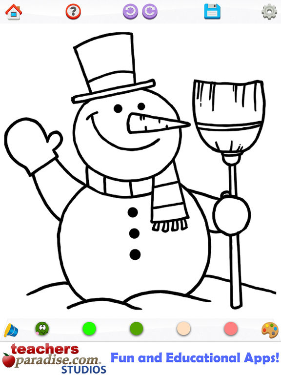App Shopper Christmas Coloring Coloring Book For Kids