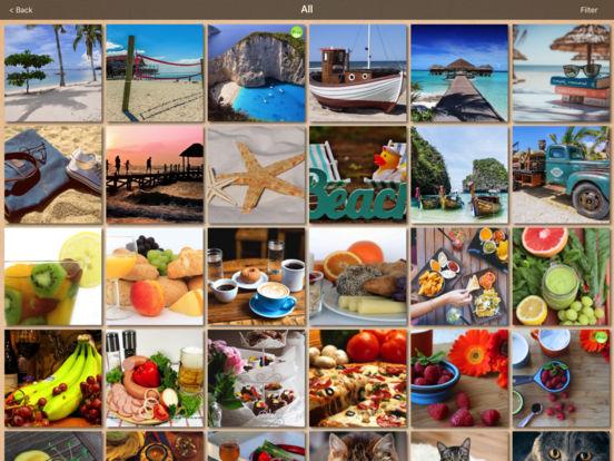 Real Puzzle - MultiShape Jigsaw LITE iPad Screenshot 3