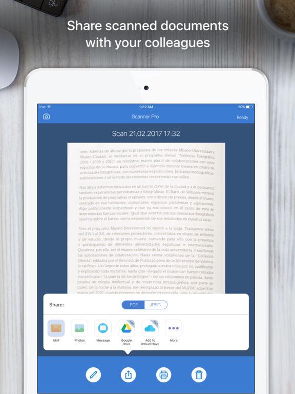 Screenshot #3 for Scanner App - PDF Scanner OCR & Document Printer