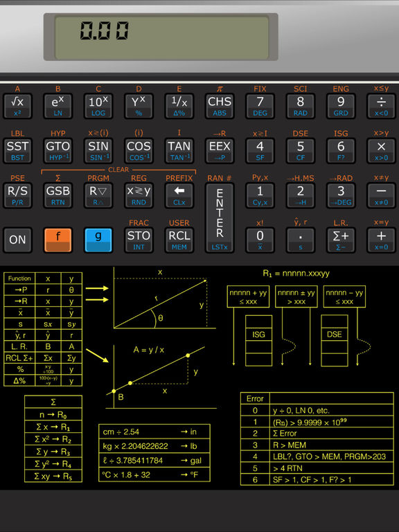 HP-11C Calculator Pro Screenshots