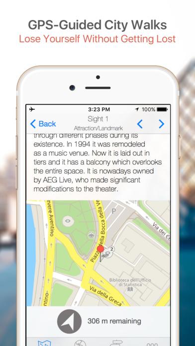 Nice Map and Walking Tours iPhone Screenshot 3