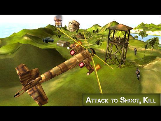 Ultimate Gunship Warplane: Real Jet Attack screenshot 6