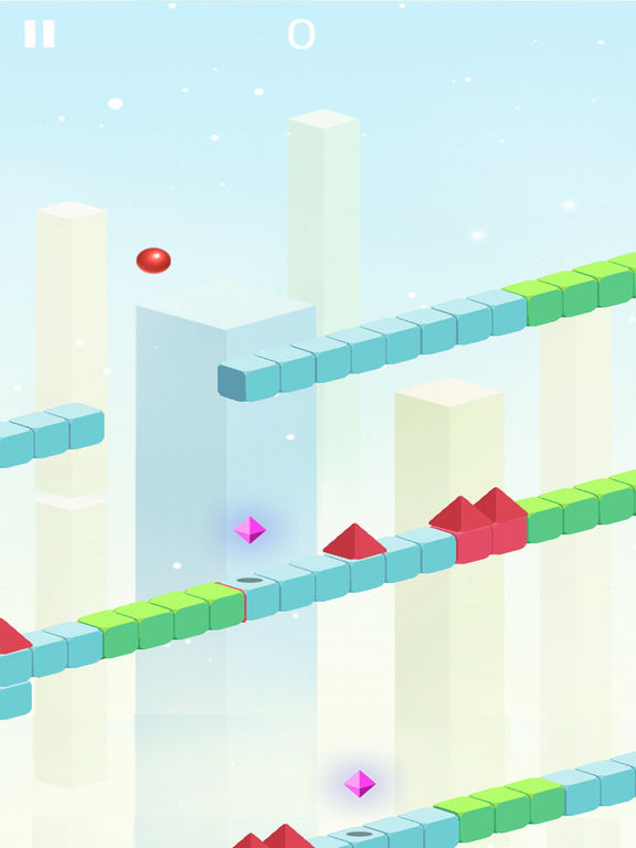 Red Ball Shape World Advenutre screenshot 5
