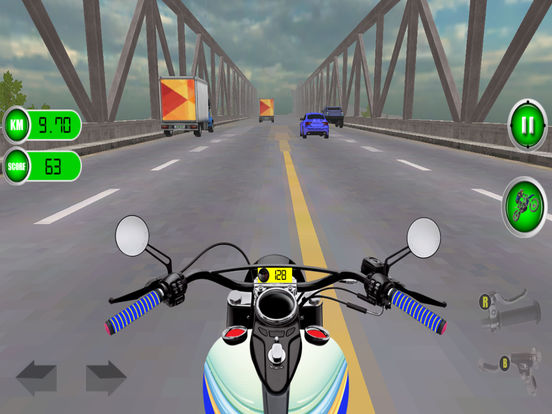 Traffic Moto Racing 2017 Pro screenshot 7