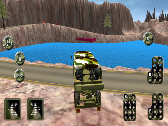 Military Speed Truck Drive Game Скриншоты7