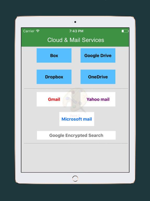 Cloud - Mail for GoogleDrive,Dropbox,Box,Onedrive Screenshots