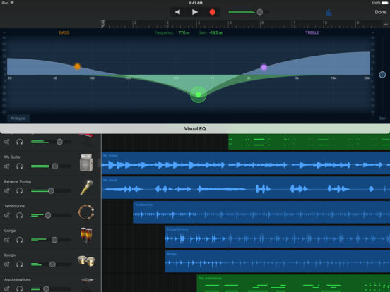 Screenshot #5 for GarageBand