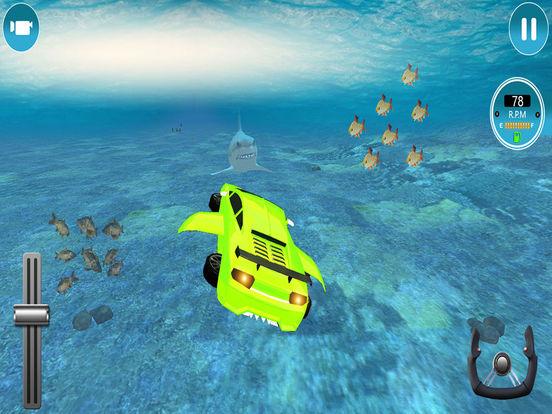 Modern Underwater Flying Car Survival 2017 screenshot 10