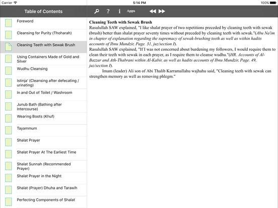 iTaqwa for iPad iPad Screenshot 4