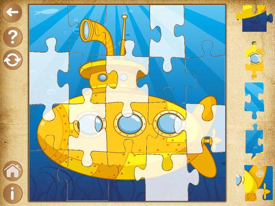 Детские игры для мальчиков Пазлы для малышей детей Скриншоты6