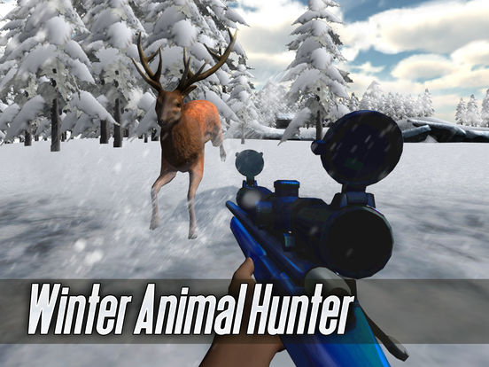 Winter Animal Hunter 3D Full screenshot 5