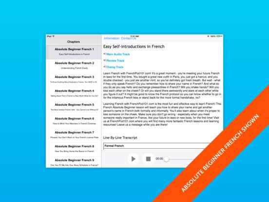 Beginner German for iPad iPad Screenshot 1