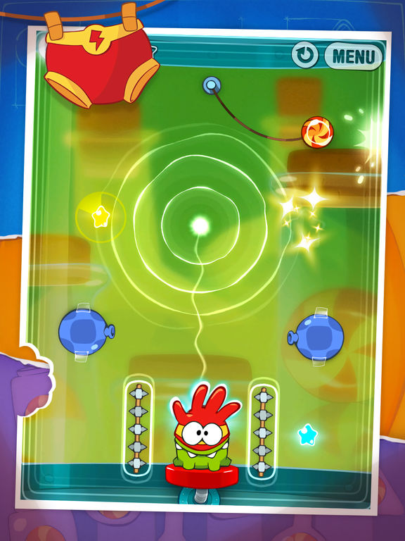 Screenshot #1 for Cut the Rope: Experiments HD Free