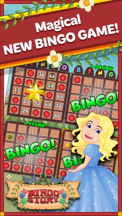 Screenshot 1 Bingo Story: Fairy Tale Casino Board Game + Puzzle