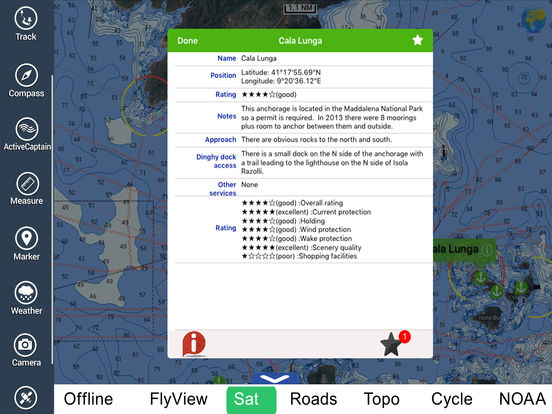 Bocche di Bonifacio HD - Travel Map Navigator iPad Screenshot 4