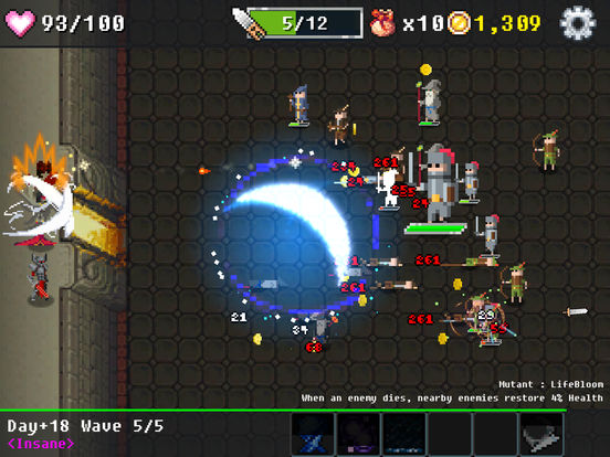 Dungeon Defense : The Invasion of Heroes Screenshots