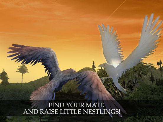 Flying Crow Bird Simulator screenshot 7