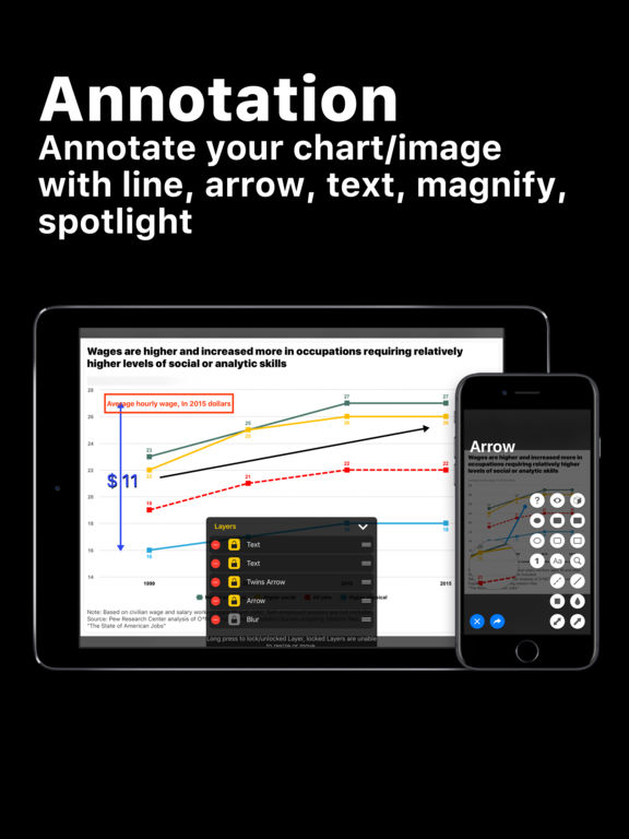 Visual Chart - Annotation Diagram Graph Tool Screenshots