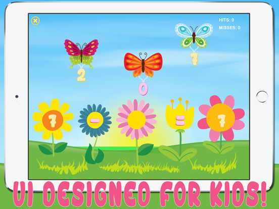 Matherfly HD - Learn Math with Butterflies! iPad Screenshot 2