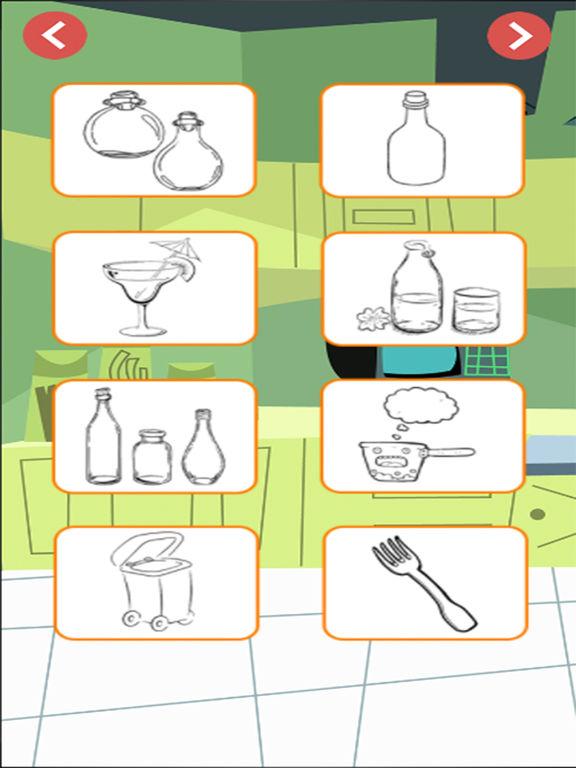 coloring books kitchen screenshot 4