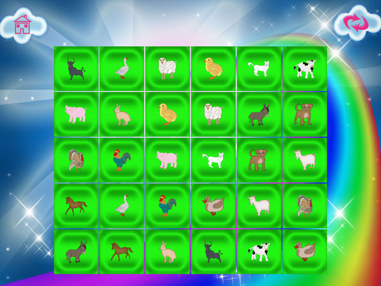 Animals Match Memory Cards Farm Game screenshot 10